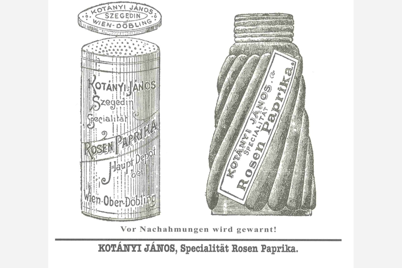 Kotányi šejker za začinsku papriku iz 1900. godine
