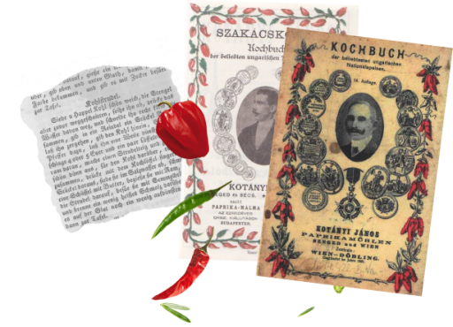 Omoti dva kuvara čiji je autor János Kotányi i odlomak recepta iz njih.