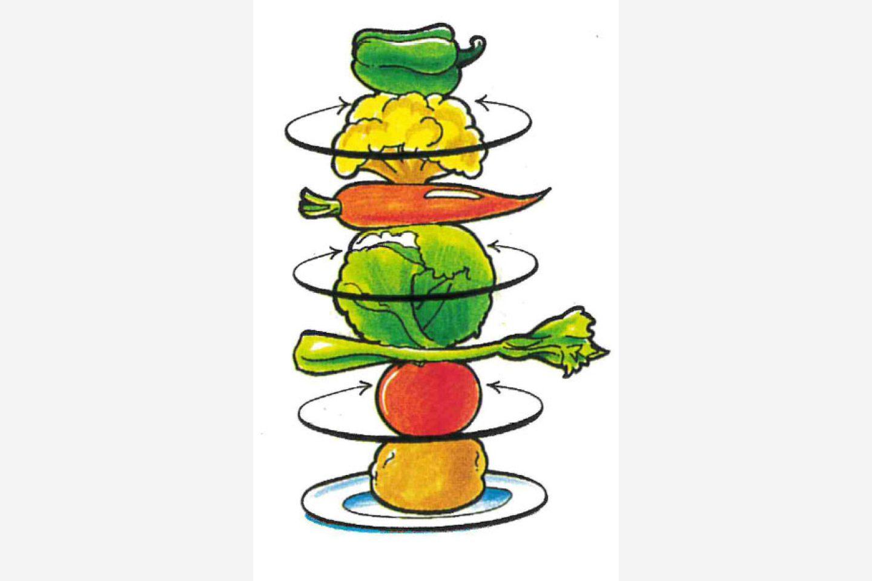 Ilustracija povrća