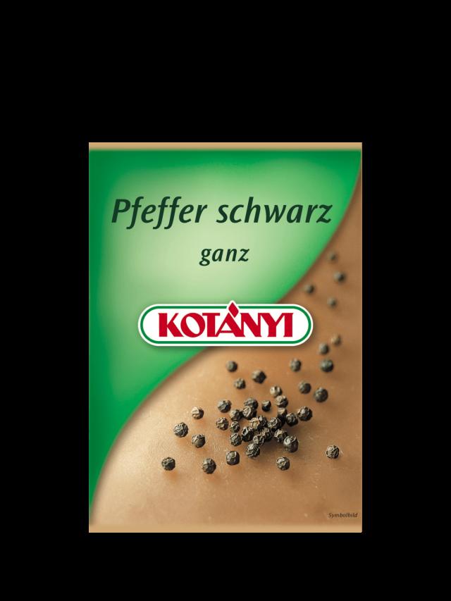 Kesica Kotányi crnog bibera iz 2000. godina.