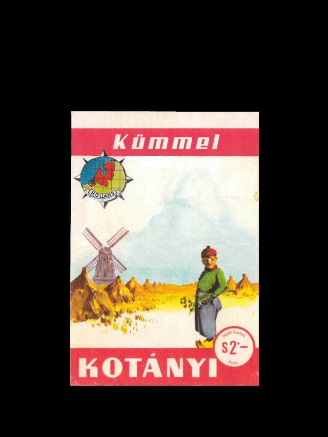 Kesica Kotányi kima iz 1961. godine.